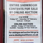 FOR SALE: Vale Kitchens entire showroom contents to be sold in online auction