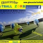 RESERVED AUCTION LOT: £100 (2 x £50) vouchers for Gloucester Football Zorb to be used towards any junior or adults package bubble football event booked through our website
