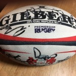 RESERVED AUCTION LOT: Signed Gloucester Rugby Ball