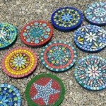 Mandala Mosaic Stepping Stones with Yvette Green