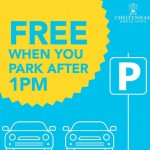NEWS: Free parking for shoppers during race week