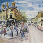 RESERVED AUCTION LOT: Framed print of 'Montpellier' by artist Ian Weatherhead donated by the Hope D'arcy