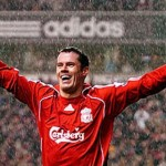 RESERVED AUCTION LOT: A limited edition signed Jamie Carragher Liverpool Shirt