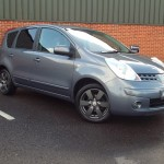 Nissan Note TEKNA AUTOMATIC+PART LEATHER+SAT NAV - 2008 (58 plate)