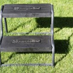 FOR SALE: A pair of Purpleline sturdy black double tread steps