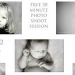Free newborn and child photo shoot with Stefy