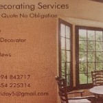 RESERVED AUCTION LOT: 2 Days Decorating with Dean Decorating Services
