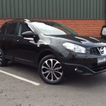 Nissan Qashqai 360 PLUS 2 7 SEATS+SATNAV+REV CAMERA - 2013 (13 plate)