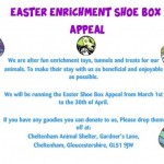 Easter Enrichment Shoe Box Appeal