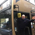Hero Stagecoach West bus driver helps to save woman from canal