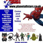Planet All Stars - Gloucester's Brand New Comic and Collectables Shop