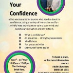 FREE for eligible learners! Confidence Building Course in Stroud: Starts Friday 3rd May