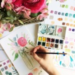 Introduction to Watercolours Workshop: Pimlico