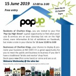 Pop-up High Street - showcase your business and promote your products