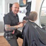 Local hairdresser holds 24 hour cutathon for charity