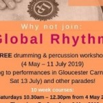 Free carnival drumming and percussion workshops