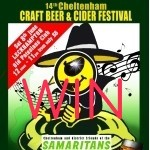 COMPETITION: WIN 1 of 4 Tickets for the 14th Cheltenham Craft Beer and Cider Festival