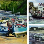 Exhibition of coastal and nostalgic artwork at East Glos Club