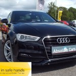 Audi A3 TDI S LINE £0.00 TAX+B/TOOTH+PART LEATHER - 2015 (15 plate)