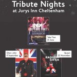 Tribute Nights at Jurys Inn