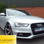 Audi A4 TDI S LINE BLACK EDITION £30 TAX+BLUETOOTH+PT LEATHER - 2012 (62 plate)