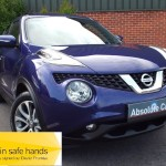 Nissan Juke TEKNA DIG-T FULL LEATHER+BLUETOOTH+SATNAV - 2014 (64 plate)