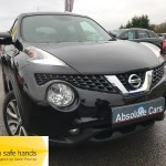 Nissan Juke TEKNA DIG-T FULL LEATHER+B/TOOTH+REV` CAM - 2015 (65 plate)