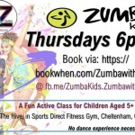 Zumba KIDS Thursday at The Hive