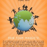 Miles for Maggie's - County your steps all month - Sign up at any point during June 2019