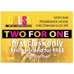 BRING A FRIEND FOR FREE - learn to Salsa #SalsaDelSol Every Thursday Night at Yates Bar.