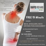 FREE 15 Minute Back, Shoulder, Neck or Knee Pain Assessment
