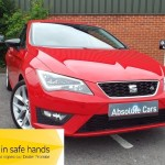 SEAT Leon TDI FR TECHNOLOGY £20 TAX+SATNAV+BLUETOOTH - 2014 (14 plate)