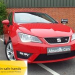 SEAT Ibiza TSI FR TECHNOLOGY £30 TAX+SATNAV+BLUETOOTH - 2016 (16 plate)