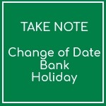 May Bank Holiday 2020 has been moved!