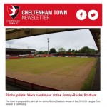 Weekly Cheltenham Town Newsletter