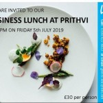 Business Lunch at Prithvi