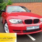 BMW 1 SERIES 120d ES 6 SPEED+ISOFIX+LONG MOT - 2008 (08 plate)
