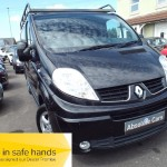 Renault Trafic SL27 SPORT DCI S/R P/V AIR CON+SATNAV+ROOF RACK - 2010 (60 plate)