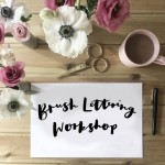 Introduction to brush lettering workshop with Becki Clark: Cotswolds