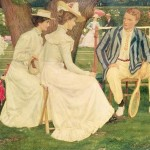 Object talk: The Tennis Party by Charles March Gere