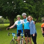Legs for Lynda as local family take on 100 mile cycle challenge for Sue Ryder
