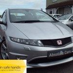 Honda Civic I-VTEC TYPE R GT 6 SPEED+USB & AUX+PART SUEDE - 2009 (09 plate)