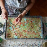 Introduction to paper marbling workshop with Marmor Paperie: Notting Hill