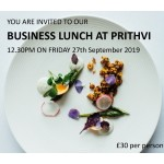 LINC Business Lunch at Prithvi