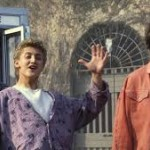 Film: Bill & Ted's Excellent Adventure (PG)