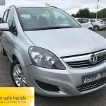 Vauxhall Zafira EXCLUSIV SEVEN SEATS+ISOFIX+TWO KEYS - 2013 (63 plate)