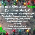 Gloucester Vegan Christmas Market 2019