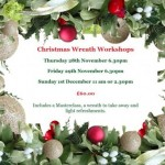 Christmas Wreath Workshops