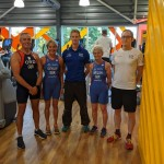 Team GB triathletes supported by The Cheltenham Trust