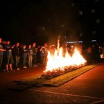 Walk on hot coals for local families needing care of hospice